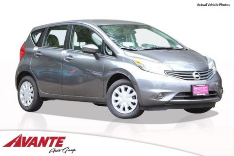 New Nissan Versa Note S Plus